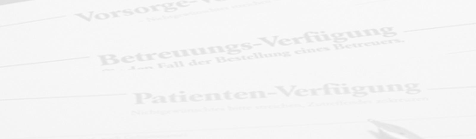 Bestattungshaus Linke- Bestattungsvorsorge Betreuungsverfügung